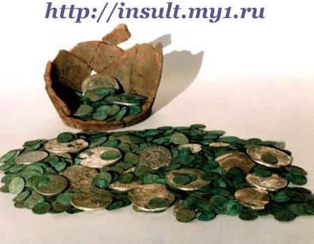 фото - зеленый налет на монетах
