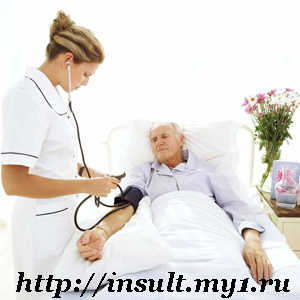 фото больной инсультом